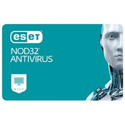 Eset NOD32 Antivirus, New el. licence, 1 year(s)