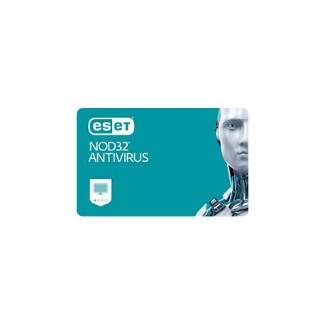 Eset NOD32 Antivirus, New el. licence, 1 year(s)