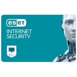Eset Internet security , New el. licence, 1 year(s), License quantity 3 user(s)
